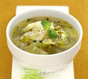 вкусный рисовый суп с курицей