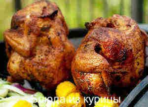курица на пиве с тимьяном