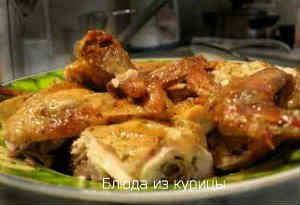 как просто пожарить курицу в духовке