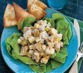 карибский салат с курицей