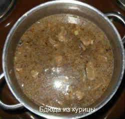куриная печень с рисом_залить водой