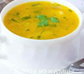 грибной суп с картофельными галушками
