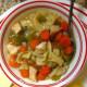 куриный суп с яичной лапшой и овощами рецепт