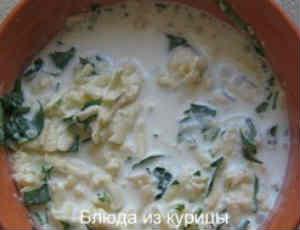 курица в сливочно-сырном соусе_приготовить соус