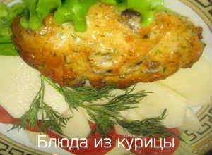 отбивные из куриной грудки в сливочном соусе рецепт