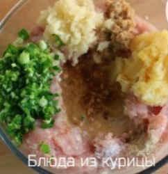 куриные фрикадельки в соусе терияки_добавить остальные продукты