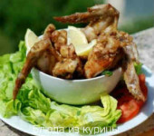 куриные крылышки в остром маринаде рецепт