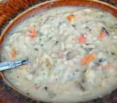 сливочный суп с курицей рецепт