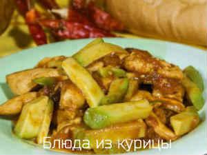 тушеная куриная грудка с авокадо рецепт