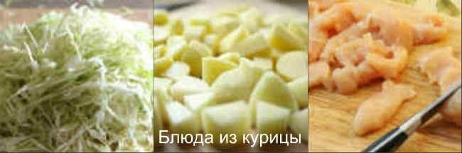 куриное филе с овощами в горшочках_нарезать филе