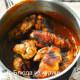 жареные куриные голени в медово-апельсиновом соусе