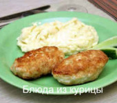 рецепт куриные котлеты с белыми грибами
