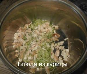 окрошка с курицей_нарезать курицу