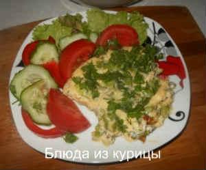омлет с зеленью рецепт с фото