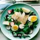 салат с куриной грудкой и редисом