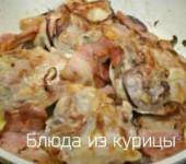 куриные бедрышки на сковороде с яблочным сидром