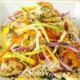 вьетнамский салат с курицей и перцем