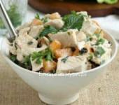 салат из курицы витаминный