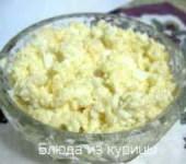 закуска из яиц и сыра