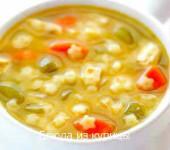 куриный суп с вермишелью звездочками рецепт