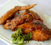 куриные крылышки запеченные в рукаве рецепт