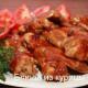 жареные куриные крылышки с медом и аджикой_рецепт