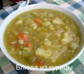 куриный суп с картошкой