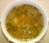 суп из куриных шеек с рисом