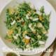 рецепт_салат из одуванчика с индейкой