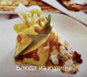 вкусные блинчики с курицей и грибами
