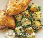 жаркое из курицы на сковороде рецепт