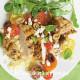 салат с куриной грудкой и помидорами черри и сыром фета